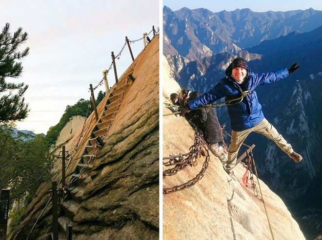 16 cầu thang đáng sợ nhất trên thế giới mà ai nhìn thấy cũng phải bủn rủn chân tay - Ảnh 12.