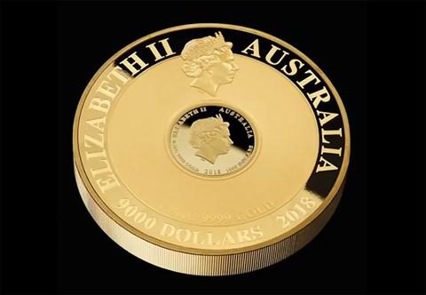 Chiêm ngưỡng đồng tiền vàng nạm kim cương trị giá 2,5 triệu USD - Ảnh 2.