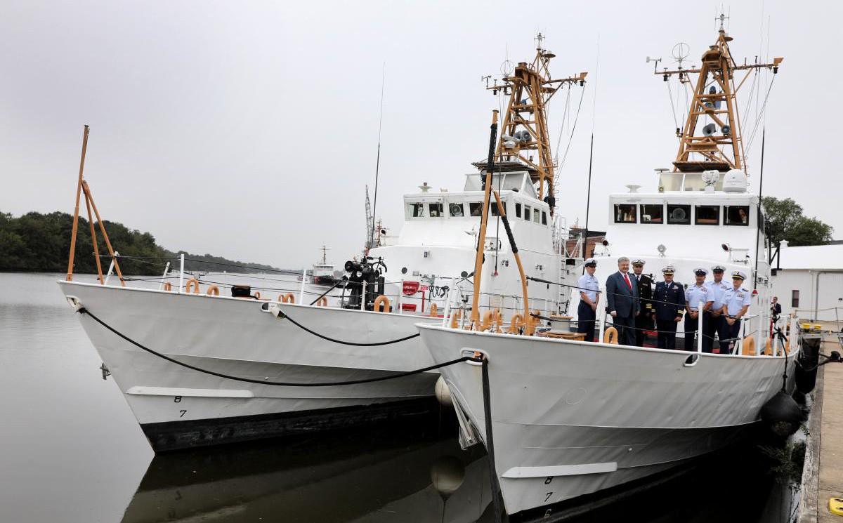 Mỹ kí hợp đồng chuyển giao tàu cho Ukraine, chuyên gia Nga cười khẩy: Hóa ra là
