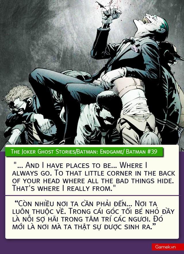 Đừng tin những trang Quotes vớ vẩn, đây mới chính là 10 triết lý Joker thực sự từng nói (Phần 1) - Ảnh 10.