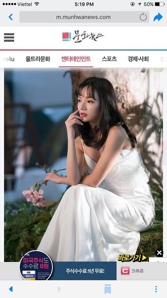 Nữ CĐV xinh đẹp hot nhất mùa ASIAD 2018 bất ngờ phủ sóng hàng loạt trang báo Hàn Quốc, tiết lộ sẽ xuất hiện trên màn ảnh nhỏ - Ảnh 4.
