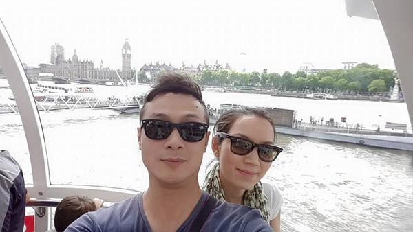 Vợ kém 14 tuổi xinh đẹp của MC Anh Tuấn: Cuộc sống sang chảnh, đi khắp thế giới - Ảnh 4.