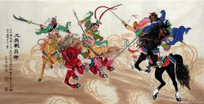 Võ tướng dũng mãnh nhất Tam Quốc chết thảm trong tay Tào Tháo chỉ vì 1 câu nói của Lưu Bị - Ảnh 1.