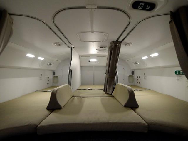 Hoá ra trên máy bay còn có những phòng ngủ bí mật cho phi hành đoàn mà không phải ai cũng biết - Ảnh 18.
