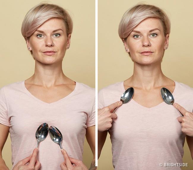 Massage chống lão hóa kiểu châu Á: Chỉ dùng thìa mà sau 2 tuần đã có da mặt căng mọng, khỏe mạnh không nếp nhăn - Ảnh 10.