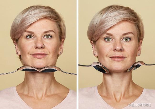 Massage chống lão hóa kiểu châu Á: Chỉ dùng thìa mà sau 2 tuần đã có da mặt căng mọng, khỏe mạnh không nếp nhăn - Ảnh 8.