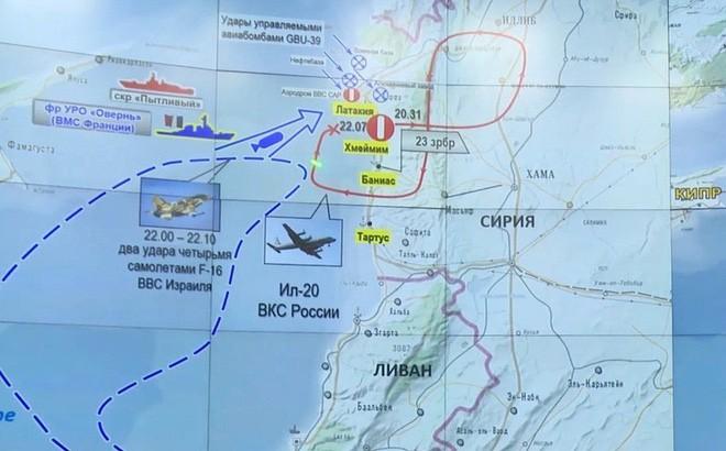 Israel tấn công Syria lần đầu tiên kể từ sau thảm họa IL-20 Nga bị bắn hạ? - Ảnh 1.