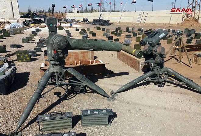 QĐ Syria trúng mẻ lớn thu nhiều tên lửa sát thủ của Mỹ - Ảnh 3.