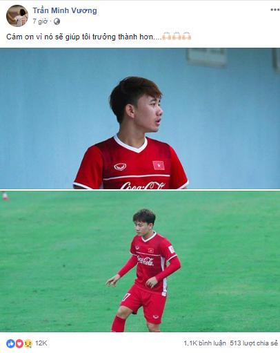 Vì sao fan lo Minh Vương không có gì để mặc trong ngày rời tuyển Việt Nam? - Ảnh 2.