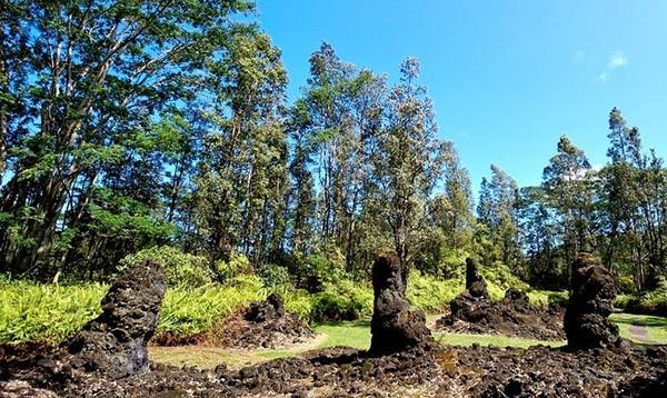 Núi lửa phun trào, rừng cây nham thạch xuất hiện - Ảnh 4.