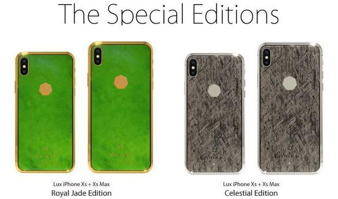 iPhone XS làm bằng đá ngoài hành tinh, giá 3 triệu đô - Ảnh 1.