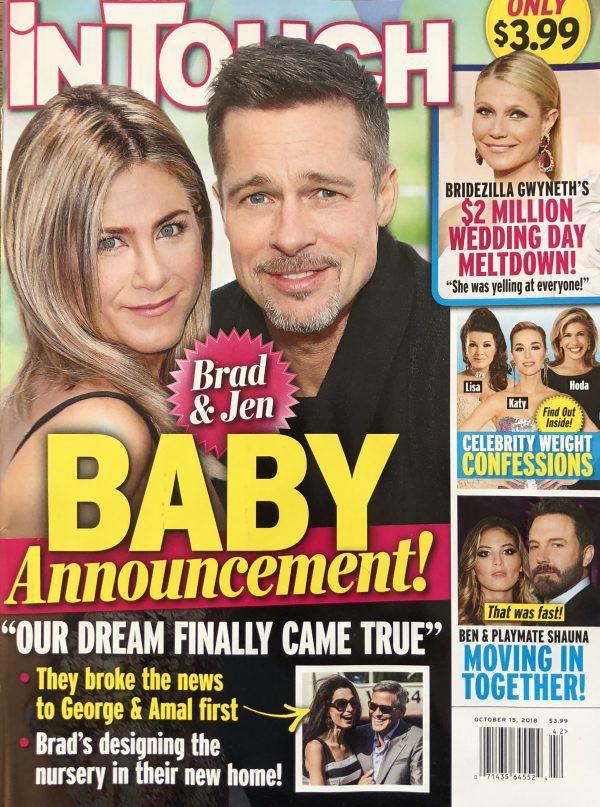 Jennifer Aniston bất ngờ có thai với chồng cũ Brad Pitt và chuẩn bị dọn vào sống chung? - Ảnh 1.