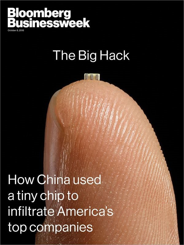 Bloomberg: Chip gián điệp Trung Quốc được tìm thấy trong phần cứng của Apple, Amazon - Ảnh 1.