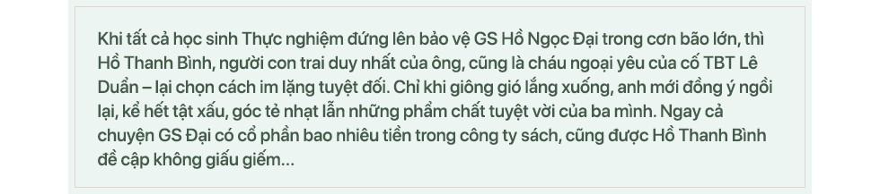 Con trai GS Hồ Ngọc Đại: Tôi đã cười không khép được mồm khi ba tôi bị vu là tình báo Trung Quốc - Ảnh 1.