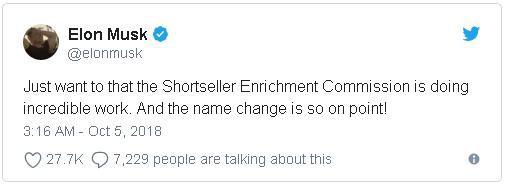 Bị phạt 20 triệu USD vẫn chưa chừa, tỷ phú Elon Musk tiếp tục đăng tweet nhạo báng SEC - Ảnh 1.