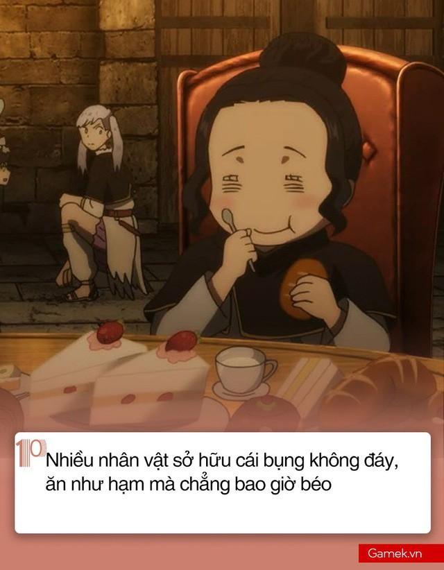 10 nghịch lý nổi tiếng nhất trong anime mà đời thực không lí giải nổi - Ảnh 10.