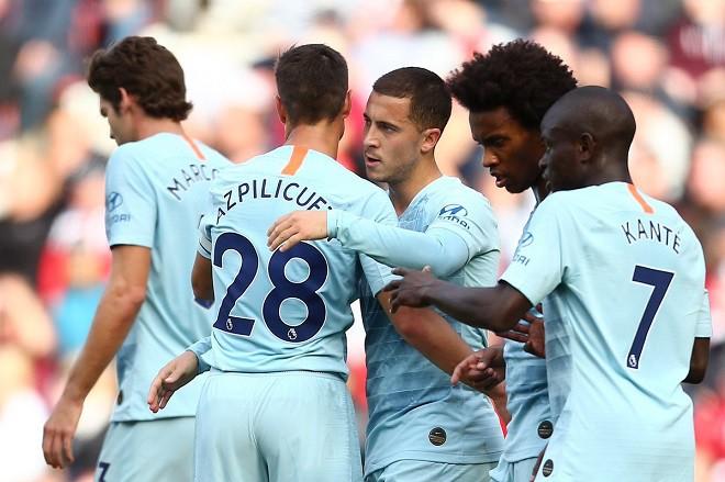 Vừa giúp Chelsea chiến thắng, Hazard công khai ý định chuyển sang Real Madrid - Ảnh 1.