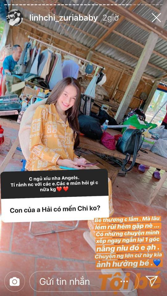 Sau gần 2 năm công khai tình cảm, Linh Chi lần đầu nói về mối quan hệ với con gái riêng của Lâm Vinh Hải - Ảnh 1.