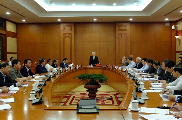 Tổng Bí thư, Chủ tịch nước Nguyễn Phú Trọng: Đẩy nhanh tiến độ điều tra vụ Mobifone mua AVG - Ảnh 1.