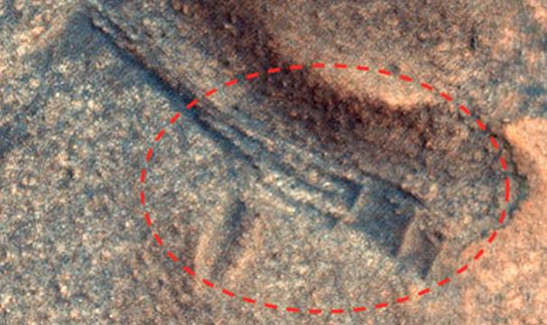 Cấu trúc cổ nghi là bằng chứng của nền văn mình cổ đại trên sao Hỏa - Ảnh 1.