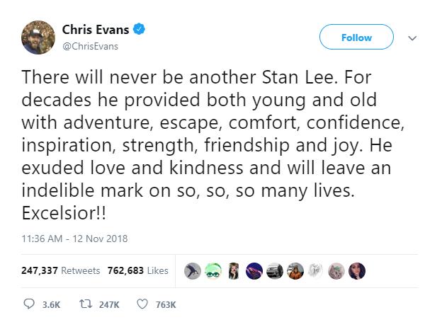 Từ Excelsior mà cả Internet đang dùng để tưởng nhớ cụ Stan Lee có nghĩa là gì? - Ảnh 1.
