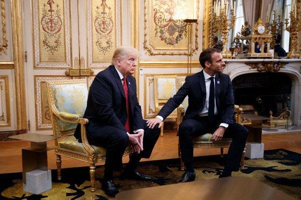 TT Macron phản pháo loạt chỉ trích vỗ mặt của TT Trump: Pháp không phải chư hầu của Mỹ! - Ảnh 2.