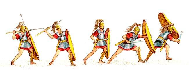 Vì sao Legion vượt qua Phalanx trở thành đội hình mạnh nhất trên chiến trường thời cổ đại? - Ảnh 3.