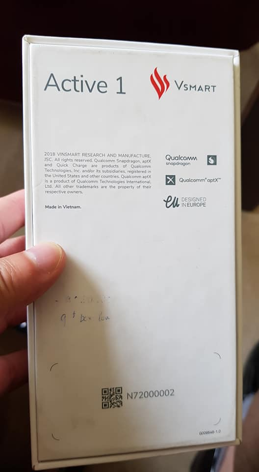VSmart Active 1 bất ngờ lộ diện: Smartphone Made in Vietnam đầu tiên của Vingroup, thiết kế tại châu Âu? - Ảnh 2.