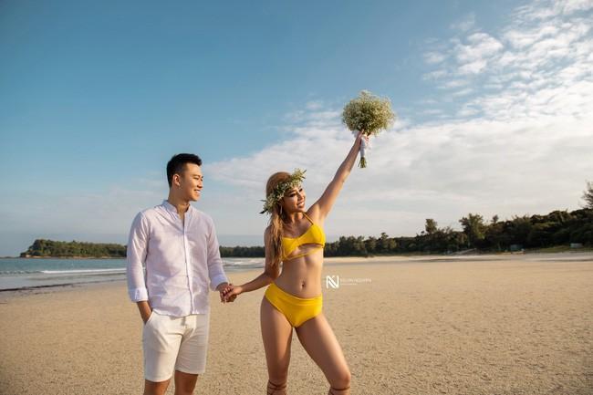Lại thêm một bộ ảnh cưới khá sốc, cô dâu có thân hình bốc lửa táo bạo khoe vòng 3 nóng bỏng - Ảnh 3.