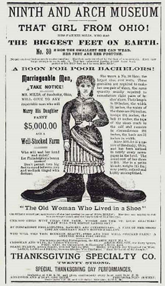 Bí mật cuộc sống của người phụ nữ chân to nhất thế giới, kiếm bộn tiền vì chân khổng lồ nhưng chết cũng vì chân - Ảnh 4.