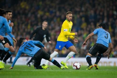 Neymar lập công, Brazil nối dài mạch thắng trước Uruguay - Ảnh 1.