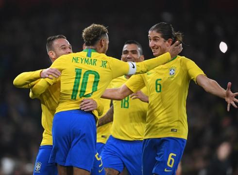 Neymar lập công, Brazil nối dài mạch thắng trước Uruguay - Ảnh 2.