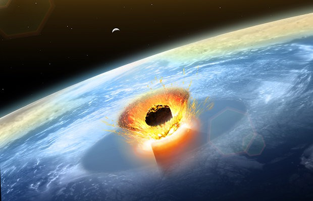 Cận cảnh nơi thiên thạch khổng lồ va chạm và làm thay đổi khí hậu Trái đất - Ảnh 1.