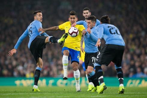 Neymar lập công, Brazil nối dài mạch thắng trước Uruguay - Ảnh 3.