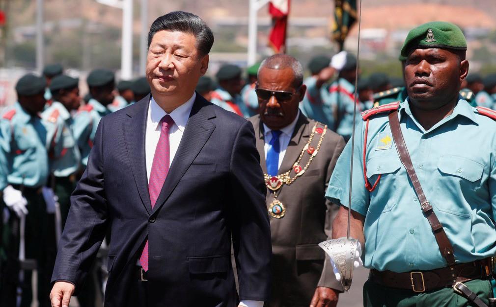 Ông Tập Cận Bình thăm nước chủ nhà APEC 2018: Một hành động