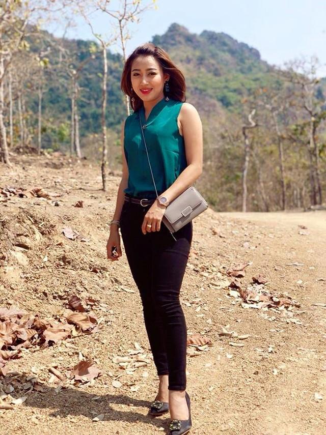 Cận cảnh vẻ đẹp sang chảnh như hoa hậu của kiều nữ yêu Messi Myanmar - Ảnh 6.