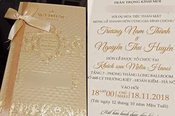 Hình ảnh hiếm hoi trong đám cưới Trương Nam Thành và bạn gái doanh nhân lớn tuổi - Ảnh 3.