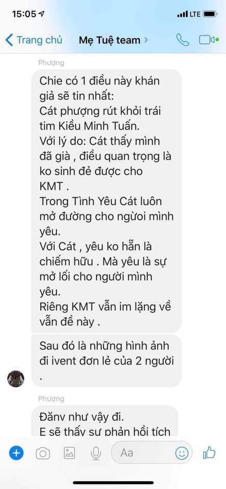 Đạo diễn phim Mẹ Tuệ - Huỳnh Đông yêu cầu An Nguy quay clip chứng minh tin nhắn tố Cát Phượng không phải ngụy tạo - Ảnh 4.