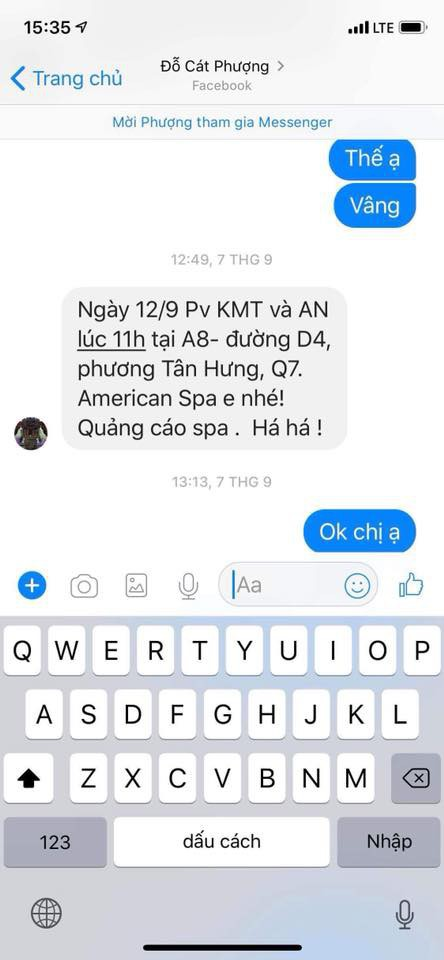 Đạo diễn phim Mẹ Tuệ - Huỳnh Đông yêu cầu An Nguy quay clip chứng minh tin nhắn tố Cát Phượng không phải ngụy tạo - Ảnh 5.