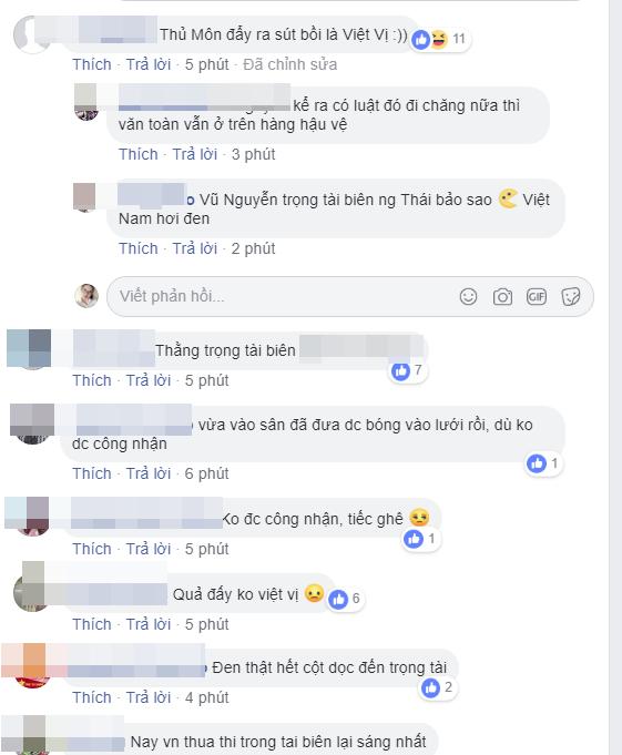 Cư dân mạng Việt Nam nổi điên: Trọng tài đã cướp trắng bàn thắng của chúng ta! - Ảnh 4.