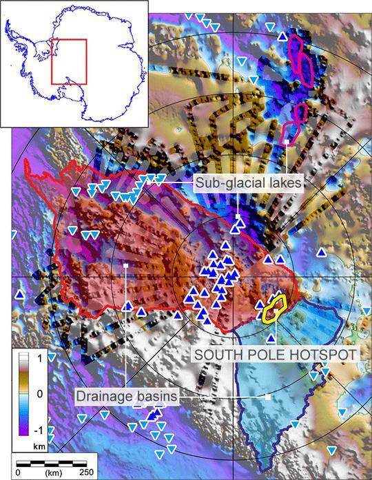 """Tảng đá siêu nóng """"nuốt"""" khối băng rộng hơn cả hòn đảo ở Nam Cực - Ảnh 3."""