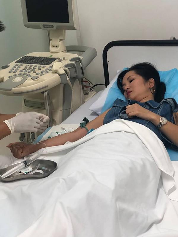 Diva Hồng Nhung nhập viện giữa ồn ào ly hôn chồng Tây vì xuất hiện người thứ 3 - Ảnh 2.