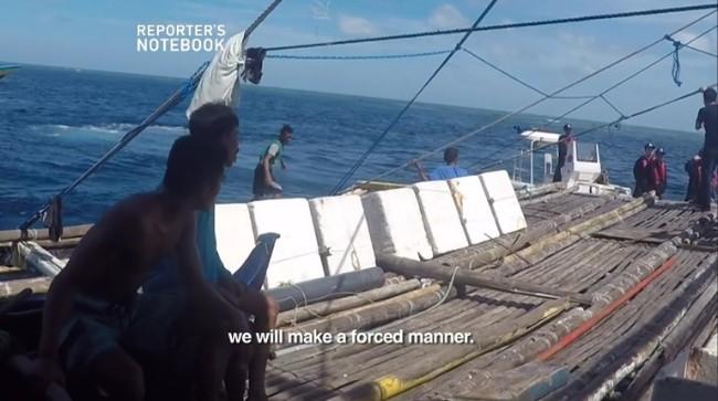 Trung Quốc ngăn cản truyền thông Philippines tác nghiệp gần bãi cạn Scarborough - Ảnh 1.