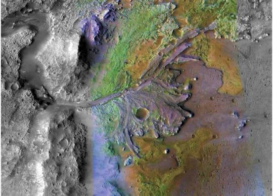 Hố khổng lồ nơi NASA săn sự sống ngoài trái đất - Ảnh 2.