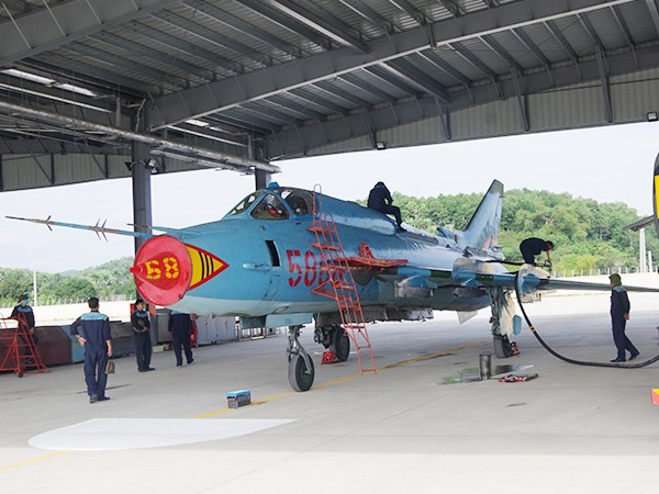 Trung đoàn 921 về Yên Bái: Su-22 đoàn KQ Sao Đỏ rời Hà Nội, lên chốt giữ vùng Tây Bắc - Ảnh 3.