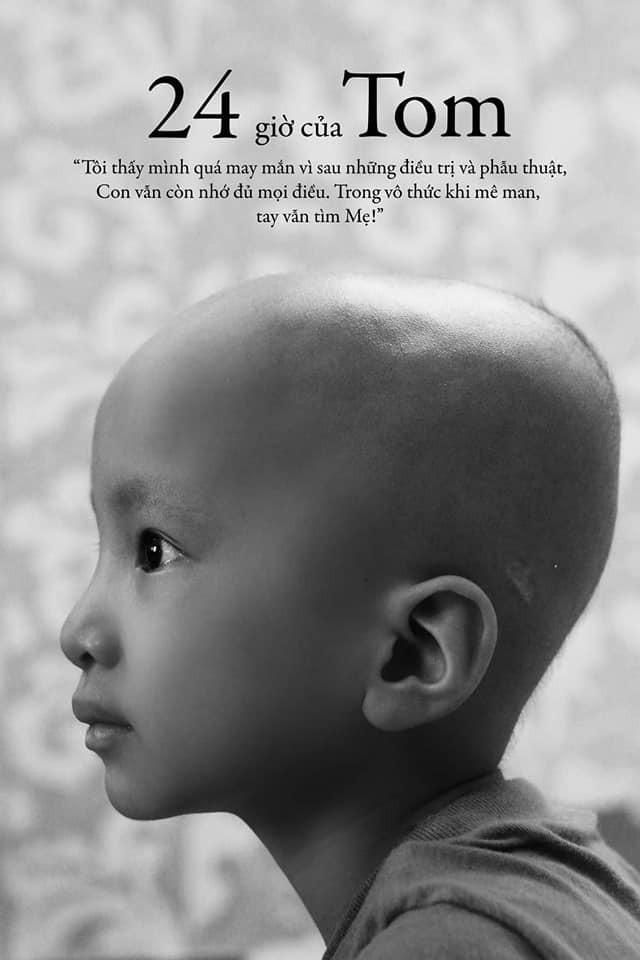 24 giờ của Tom - bộ ảnh xúc động của một người mẹ có con trai bị ung thư não khi mới 33 tháng tuổi - Ảnh 2.