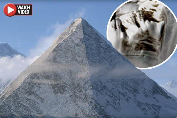 Vật thể 4 mặt giống kim tự tháp cổ đại ở Nam Cực: Nghi vấn nền văn minh bí ẩn? - Ảnh 1.