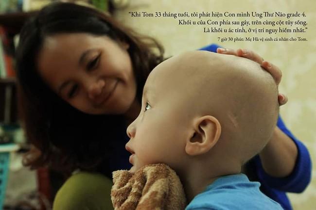 24 giờ của Tom - bộ ảnh xúc động của một người mẹ có con trai bị ung thư não khi mới 33 tháng tuổi - Ảnh 4.