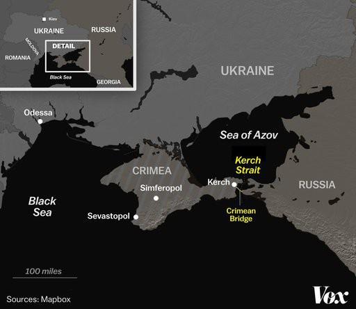 Nổ súng bắt tàu Ukraine: Mục đích thực sự khiến Nga dấn thân vào khủng hoảng là gì? - Ảnh 1.