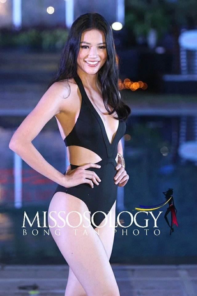 Đọ body nóng bỏng khi diện bikini của 6 nàng hậu Vbiz trên đấu trường quốc tế 2018 - Ảnh 9.